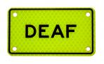 DEAF :: PLATE Yellow-Green Diamond Grade