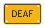 DEAF :: PLATE
