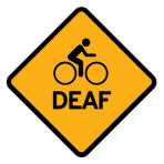 .BIKELOGO + DEAF :: STICKER
