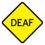 .DEAF :: STICKER FLUORESCENT