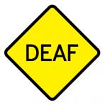 .DEAF :: STICKER FLUORESCENT